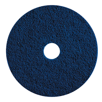 19in BLUE CLEANER PADS 5/CS